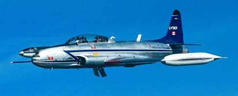 The T-33 was used by the National Research Council from 1988 to 1992.