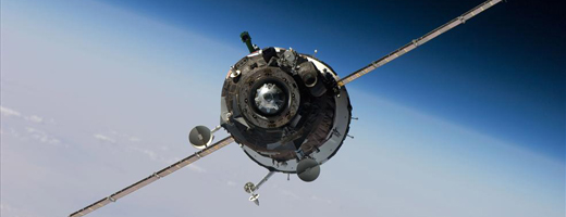 Russian Soyuz TMA-16 nears the ISS