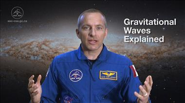 Thumbnail for video 'Gravitational Waves Explained by Astronaut David Saint-Jacques'