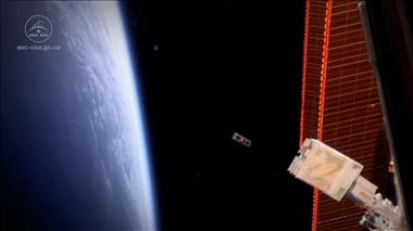 Thumbnail for video 'Successful launch of Ex-Alta 1, University of Alberta's CubeSat, from the International Space Station'