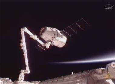 Thumbnail for video 'Canadarm2 Captures the Dragon'