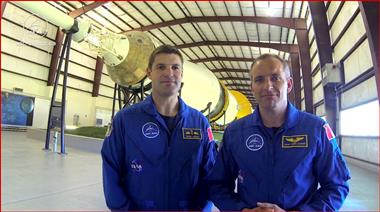 Thumbnail for video 'Canadian Astronauts Hansen and Saint-Jacques Celebrate National S&T Week 2014'
