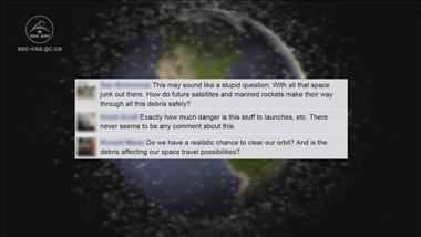 Thumbnail for video 'Ask-an-expert - CSA Flight Operation Manager Answers Questions about Space Debris'