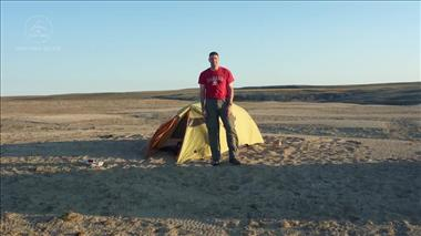 Thumbnail for video 'Jeremy Hansen sets out for geology field training on Devon Island'
