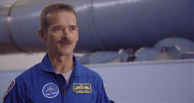 Thumbnail for video 'Chris Hadfield: Inside the Centrifuge'