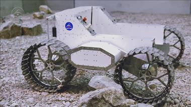 Thumbnail for video 'LRPDP - Lunar Rover Platform and Drivetrain Prototype'