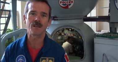 Thumbnail for video 'CSA Astronaut Chris Hadfield trains in a Soyuz Simulator in Star City, Russia'