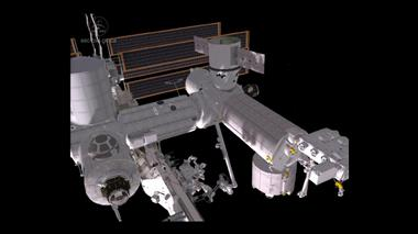 Thumbnail for video 'Dragon's Delivery: Canadarm2 unpacks the capsule's cargo'
