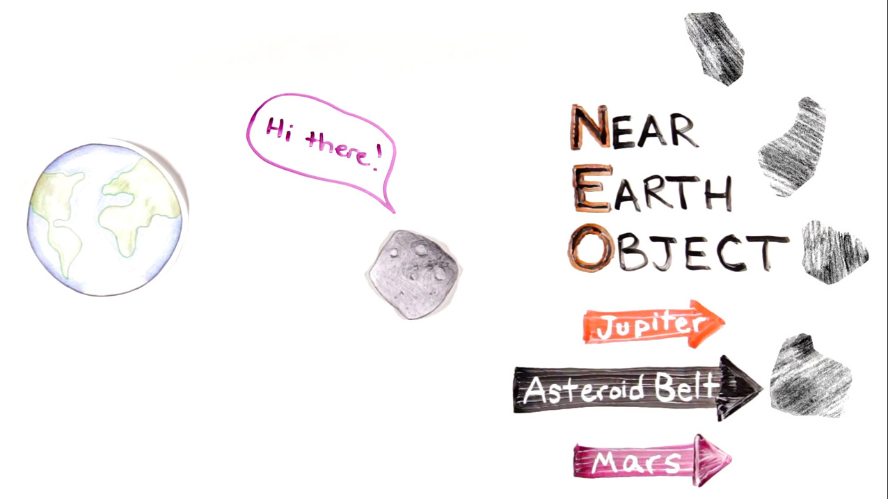 where did asteroids come from - photo #17