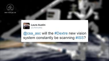 Thumbnail for video 'Ask-an-expert - CSA Engineer Answers Fan Questions about New Vision System for the ISS'