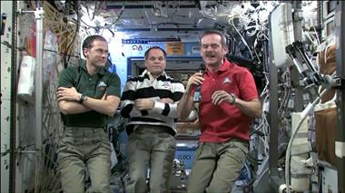 Thumbnail for video 'Chris Hadfield on how math is used on the ISS'