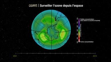 Surveiller la couche d'ozone depuis l'espace