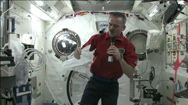 Thumbnail for video 'Chris Hadfield on getting sick in space'