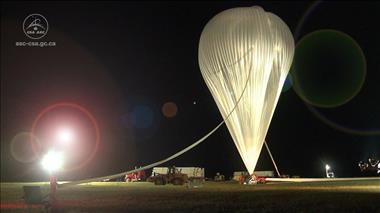 Thumbnail for video 'Stratos: the Canadian Space Agency Stratospheric Balloon Program'