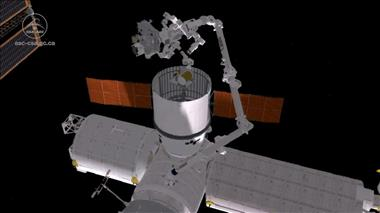 Thumbnail for video 'Dextre installs OPALS on the International Space Station'