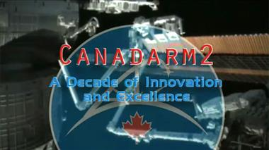 Thumbnail for video 'Canadarm2 - A decade of innovation & excellence'