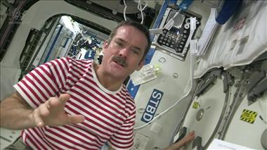 Thumbnail for video 'A Mission Possible: Hadfield on how ISS bio-samples can help in the battle against osteoporosis'