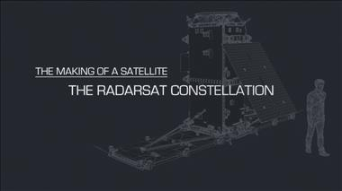 Thumbnail for video 'The Making of a Satellite – The RADARSAT Constellation'