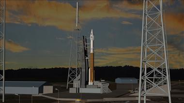Thumbnail for video 'Animation of the launch of an Atlas V rocket'