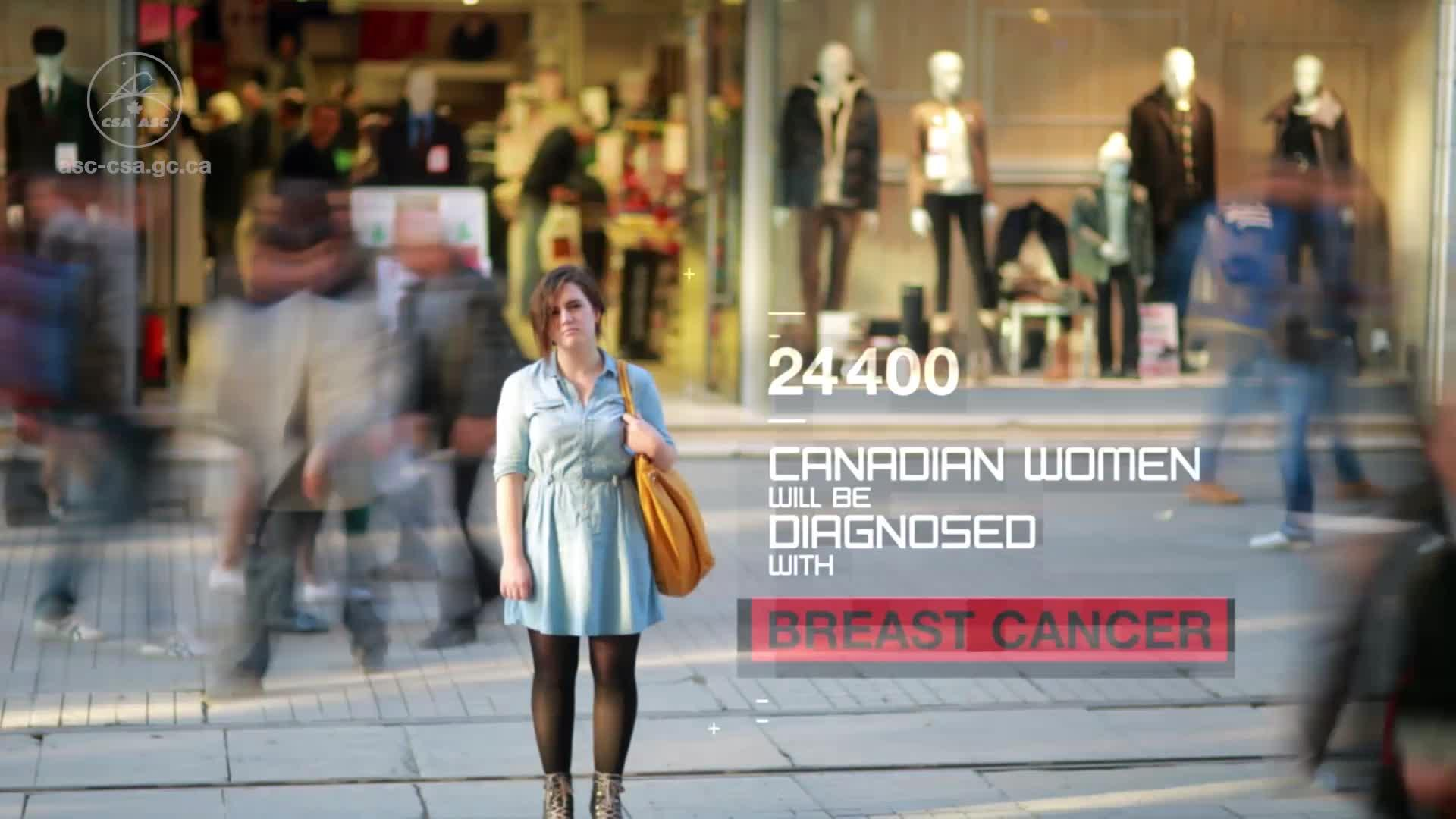Canadian Space technology helps breast cancer patients