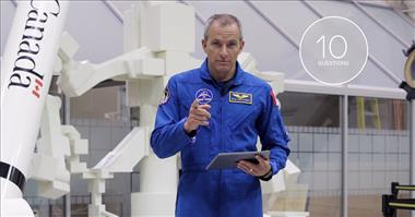Thumbnail for video '10 questions with astronaut David Saint-Jacques'