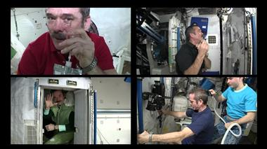Thumbnail for video 'Chris Hadfield Launchiversary'