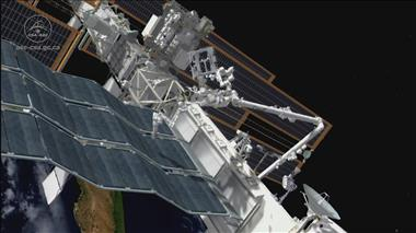 Thumbnail for video 'Dextre tests NASA's International Space Station Robotic External Leak Locator (IRELL)'